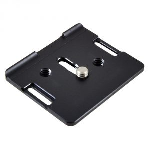 MENGS® D600 1/4 Inch Mounting Screw Camera Quick Release Plate For Nikon D600