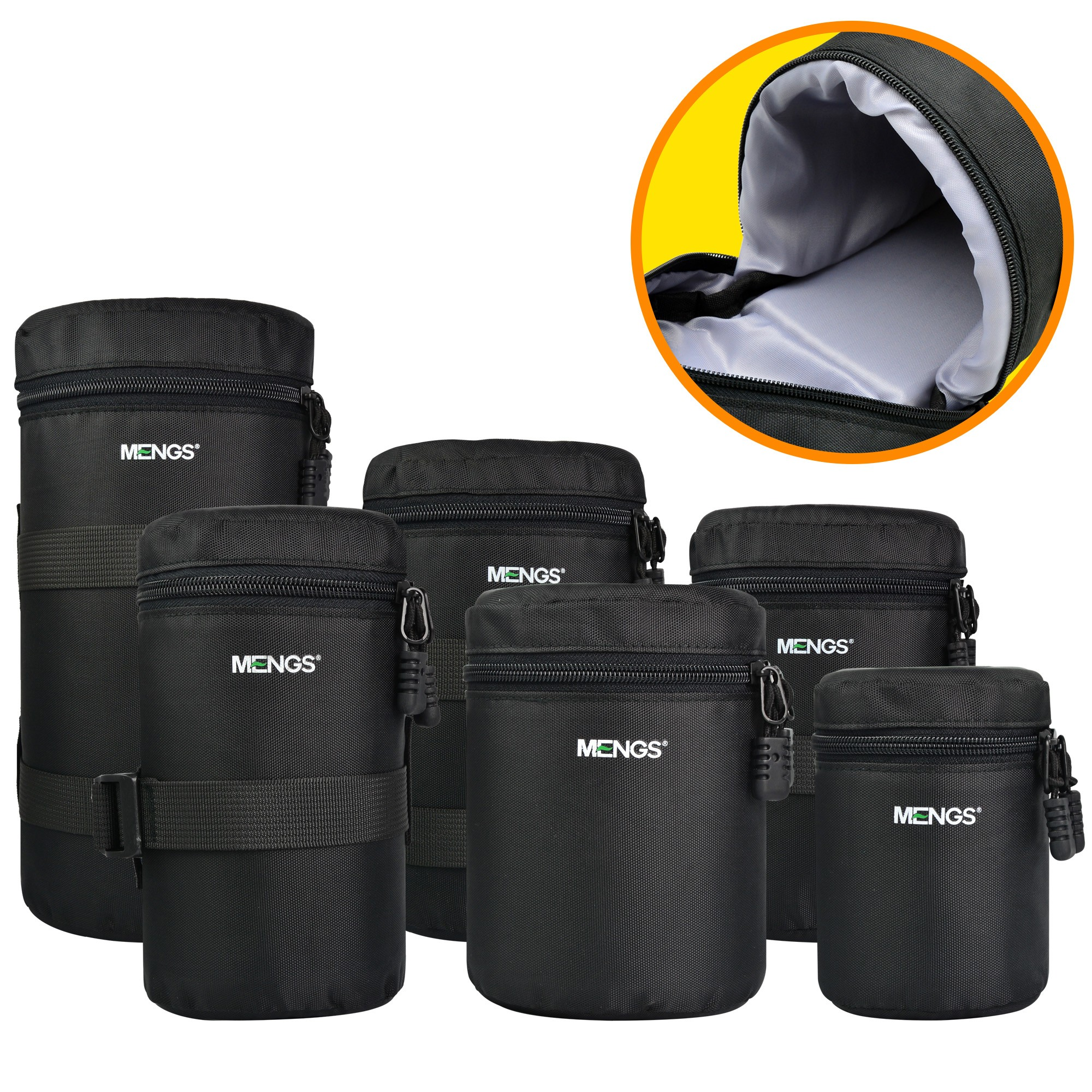 Mengsphoto Lens Pouch Amp Lens Bag