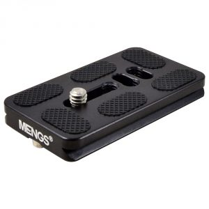 MENGS® PU70 1/4 Inch Camera Quick Release Plate For Video Camera DSLR
